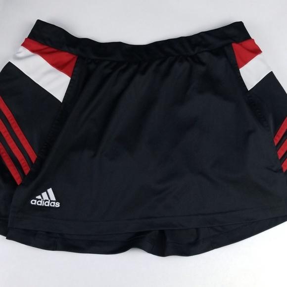 adidas Pants - Adidas Tennis Skort Size L, Black, EUC